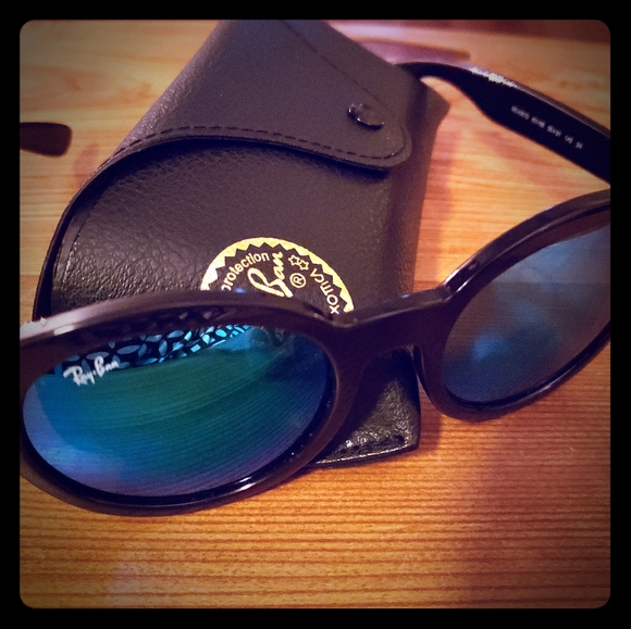 Ray Ban 4261D Mirrored Blue Sunglasses